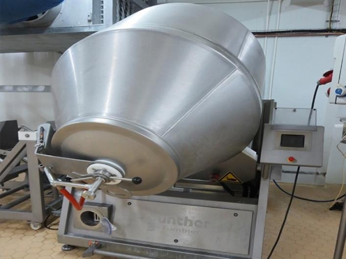 Gunther GHK200 Vacuum Tumbler & Loader