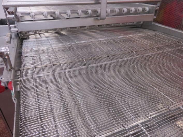 Meyn Tempura Dipper Mesh Conveyor
