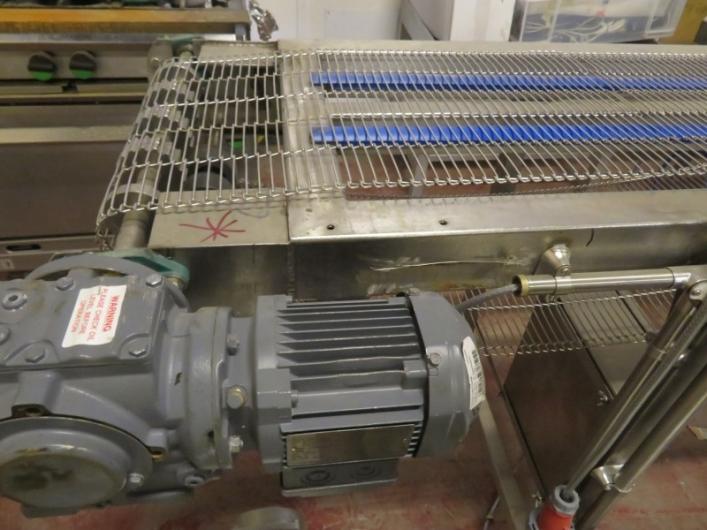 Lot No. 85 - Wirebelt Conveyor