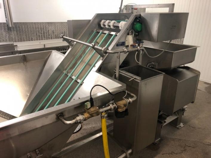Washing System with Vibratory Conveyor