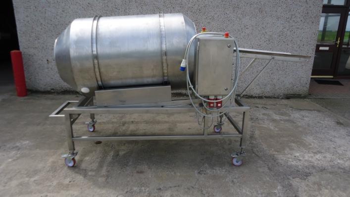 Drum breader - breading drum / coating drum
