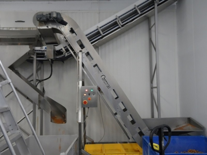 Key Inclined / Flighted Conveyor