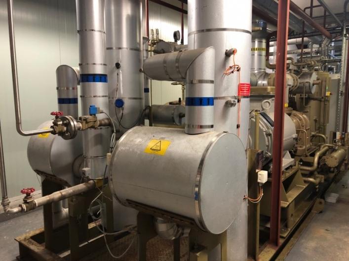 Frigoscandia FRIGoPAK Refrigeration System with GEA Grasso Screw Compressor