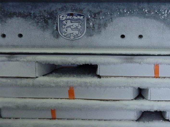 Gram 15 Station Horizontal Plate Freezer