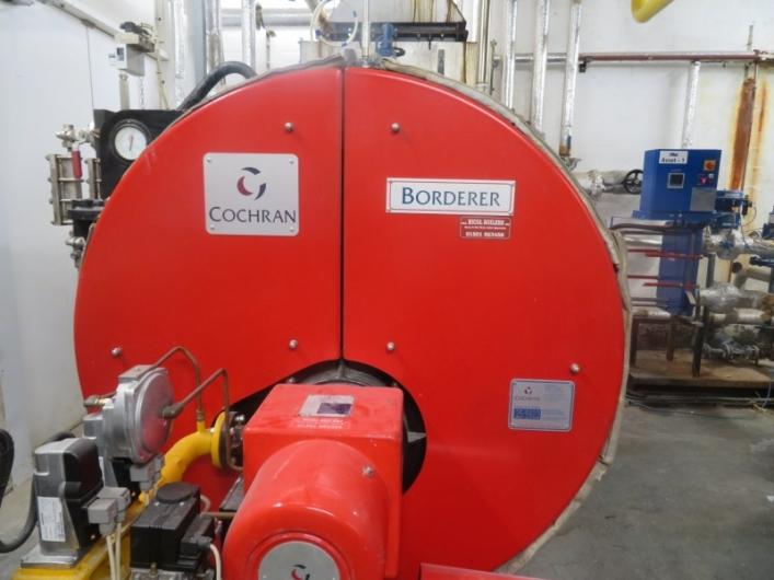 Cochrane Borderer Steam Boiler