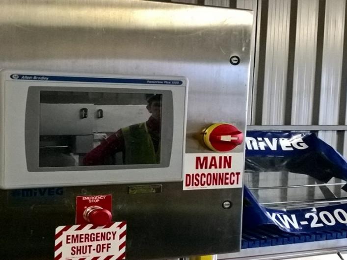 MiVeg KW-2001 Skewering Machines