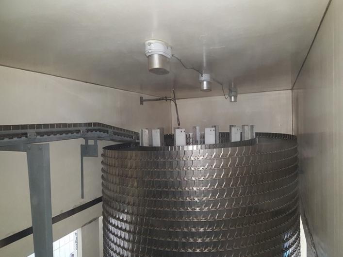 JBT FoodTech Frigoscandia GC42 Spiral Freezer