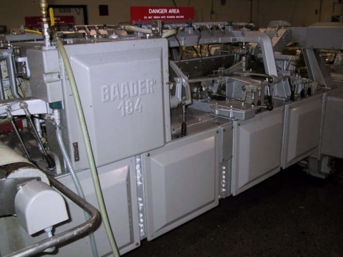 Baader 184 Filleting Line with Baader 51 Skinning