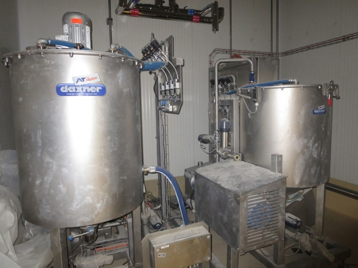 Daxner Sauce Mixing and Preparation System