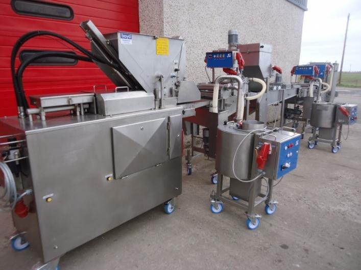 Complete GEA / CFS Koppens 400mm Forming & Coating Line