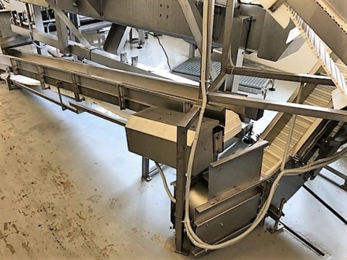 Baader 221 Filleting Machine with Baader 56 Skinning