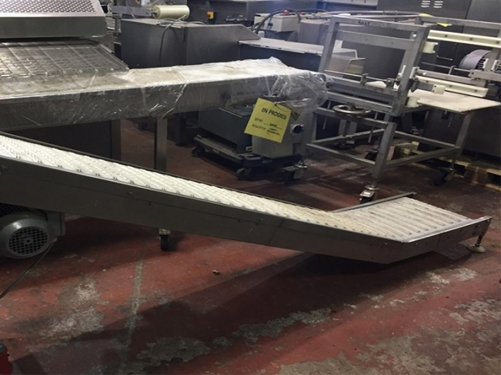 Intralox Incline Conveyor
