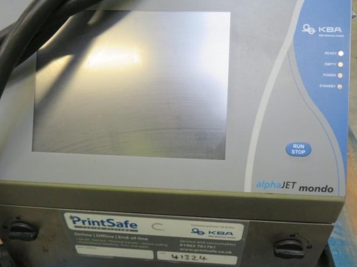 Lot No. 12 - Alphajet Printer
