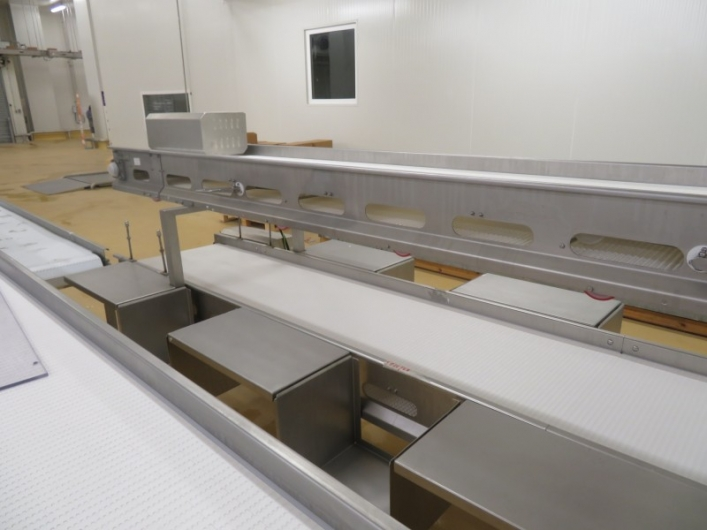 8 Station, Double-Tier, Packing Conveyors