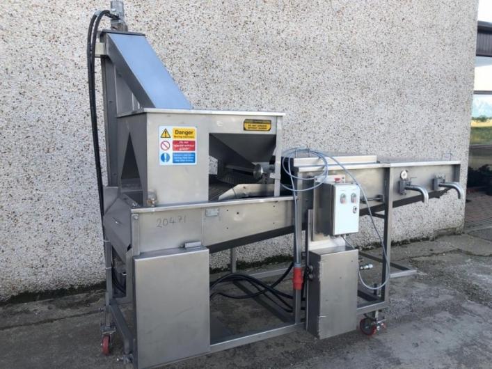 JBT Stein E24 Breader - Hydraulic Stein 24 Inch Breading Machine