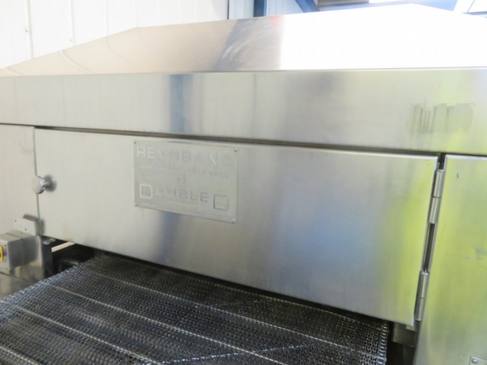 JBT Double D Chargrill and Bar marker