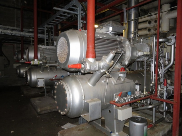 Sabroe Ammonia Compressor Package