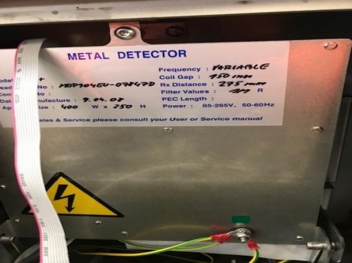 Lot No. 31 - LOMA IQ3 Metal Detector