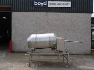 Drum breader - breading drum / coating drum