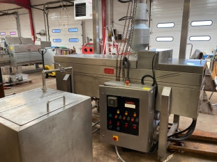 Coat and Fry Continuous Oil Fryer