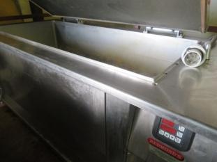 Jugema K80 E electrically heated ham / meat boiling pan / kettle.