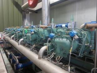 6 x Bitzer Compressors