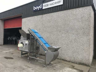 Sepamatic 1400 Separator and Incline Conveyor