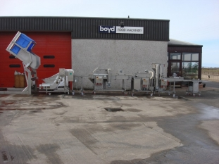Dolav fed Batter, Predust, Bread and Fry Line - 600mm Belt width